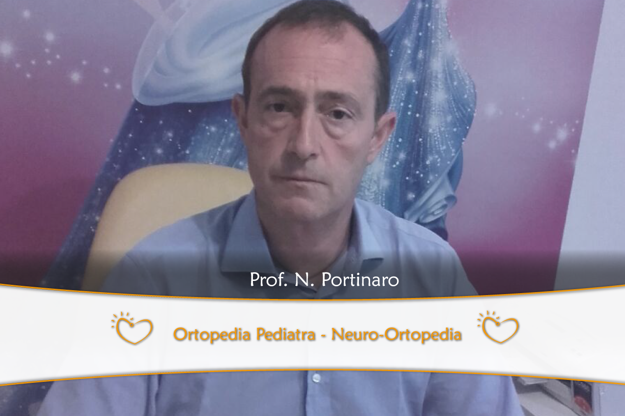 Prof. Nicola Portinaro ortopedico e traumatologo, ortopedico pediatrico e neuro-ortopedico